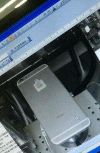 suspected iphone 6 prototype leaked 50 different and 5s