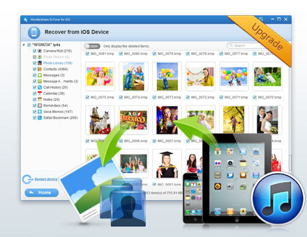 How to Recover Data from iPhone 6/6S/SE after Jailbreak