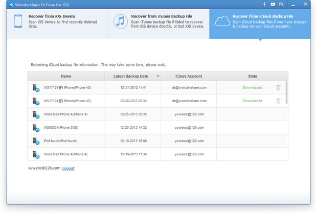 recover imessages from icloud