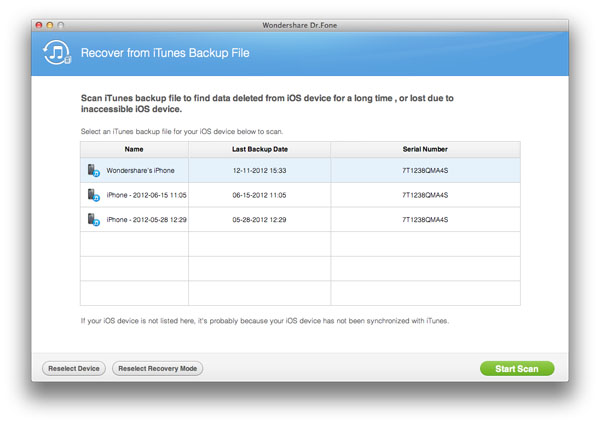 iPhone SMS Recovery for Mac to recover Deleted iPhone Text ...