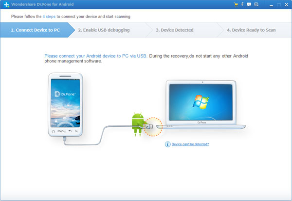 Android Samsung Recovery-Recover Contacts from Broken or