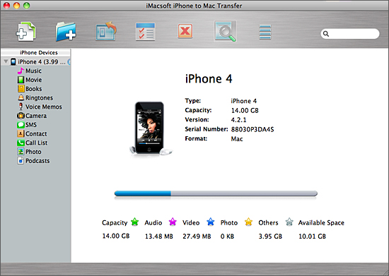 transfer iphone contacts to mac computer