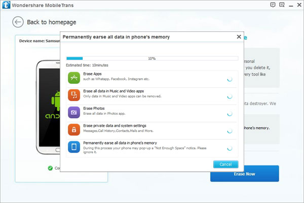 Android Data Eraser to Permanent Delete Data from Android Phones/Tablets