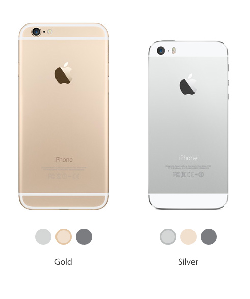 difference between iphone 5s and 6 iphone 5s vs iphone 6 comparison review the difference 18377